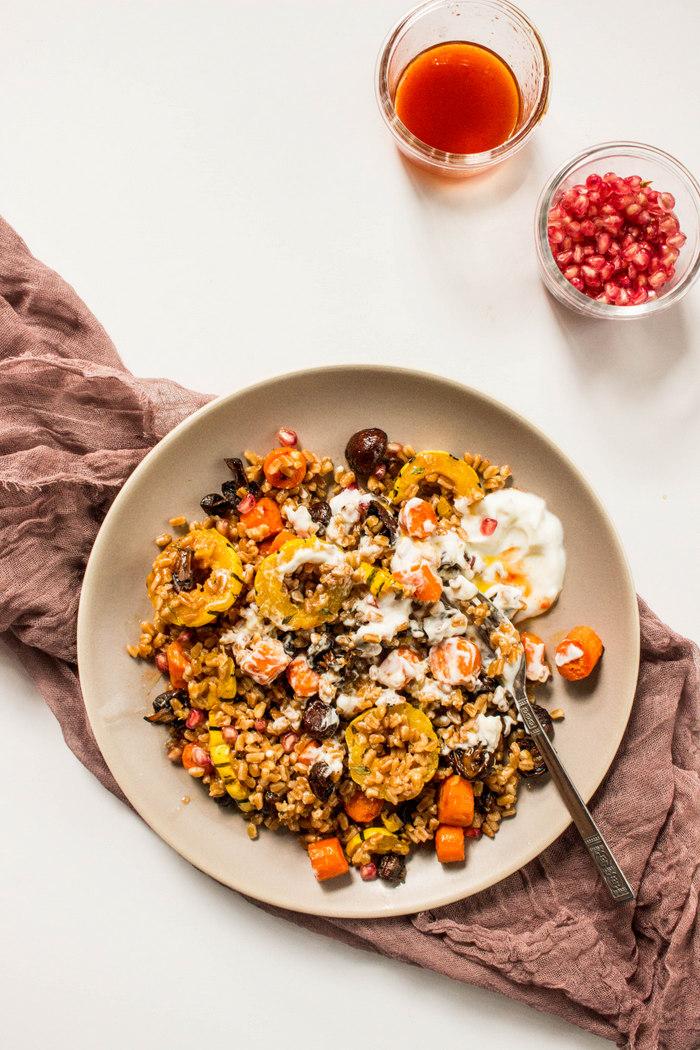 Roasted Mushroom Squash Farro Salad-6.jpg