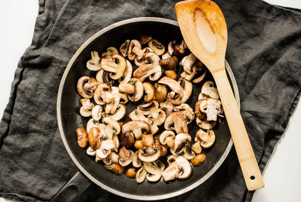 Creamy Mushroom Galette