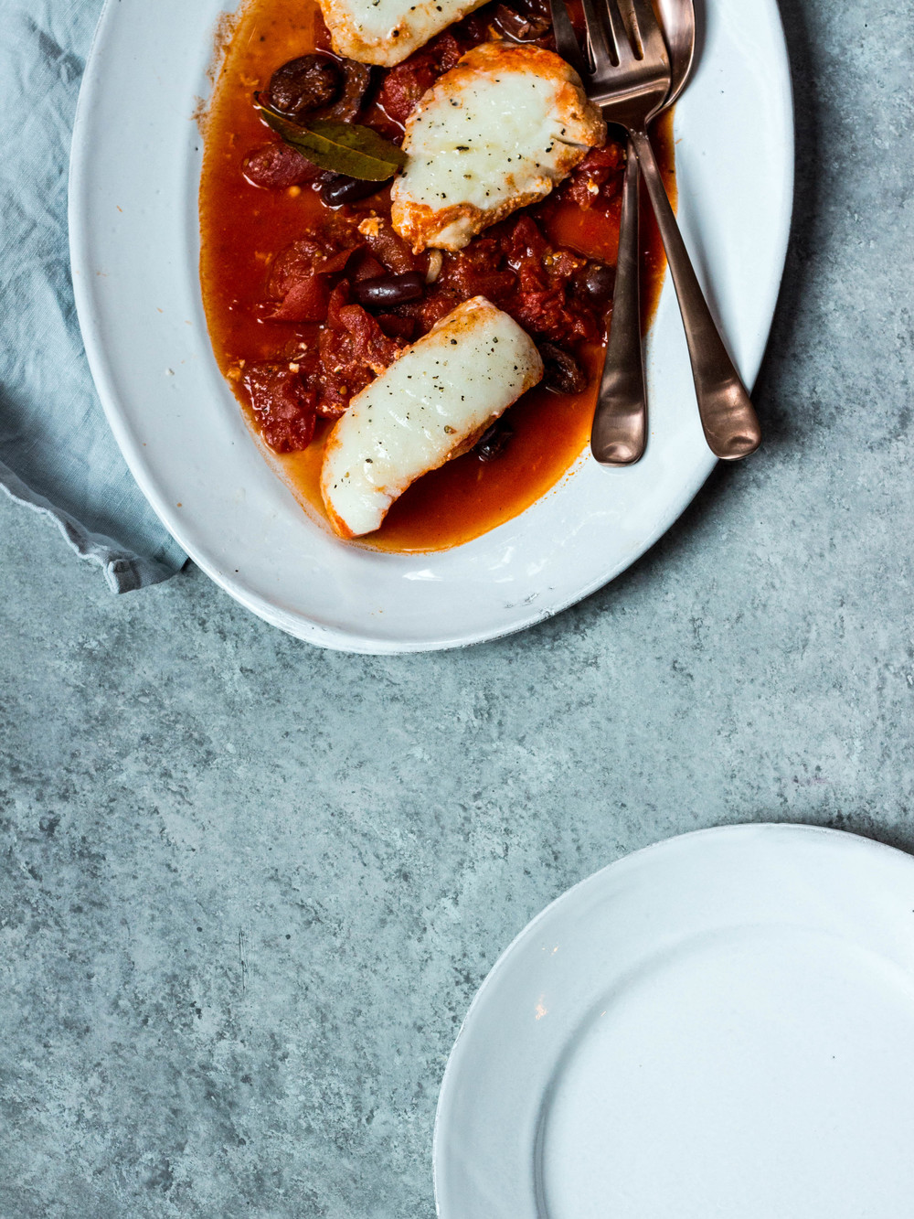 Poached Halibut in Tomato Sauce + Olives (5 of 1).jpg