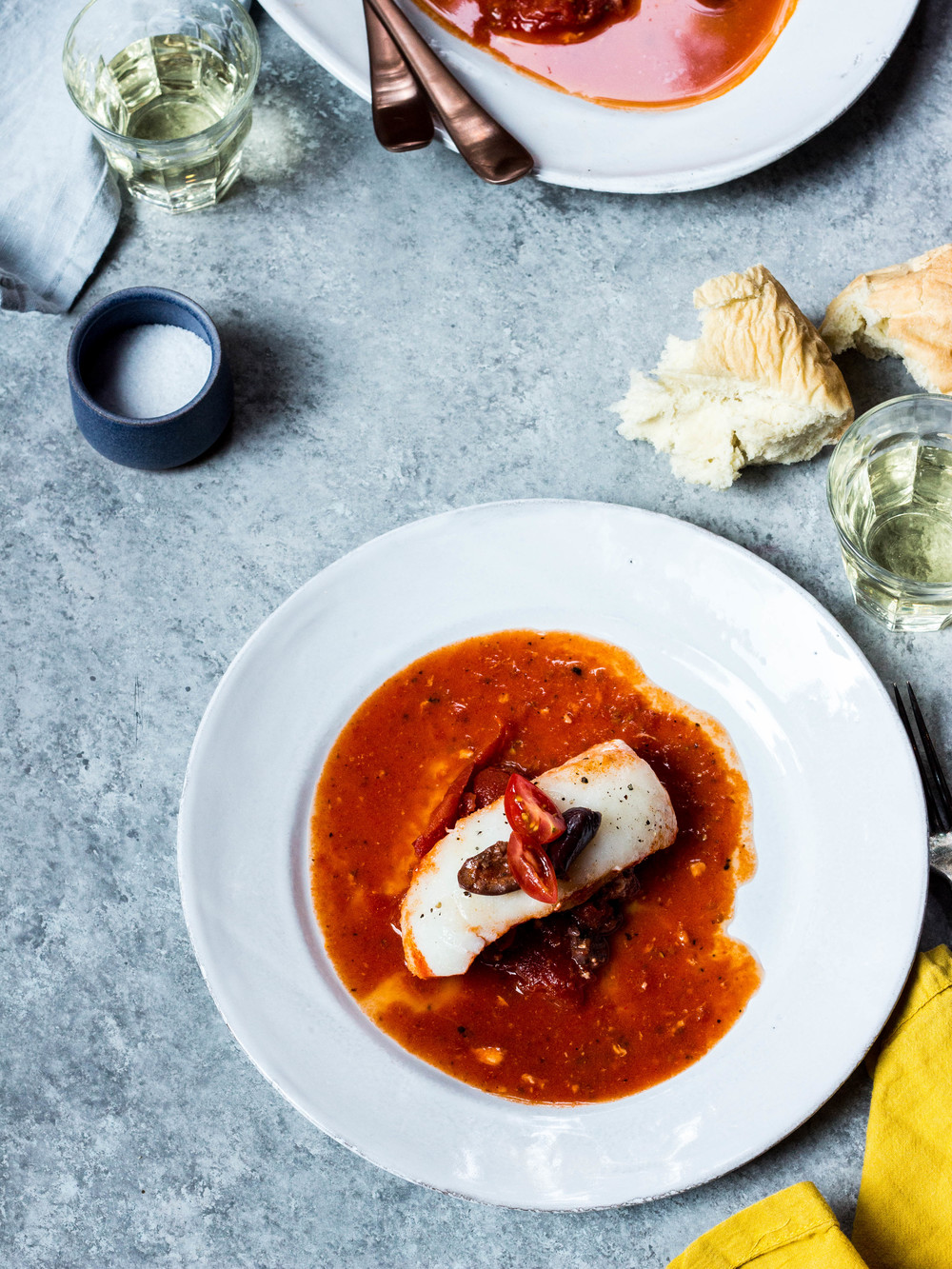 Poached Halibut in Tomato Sauce + Olives (7 of 1).jpg