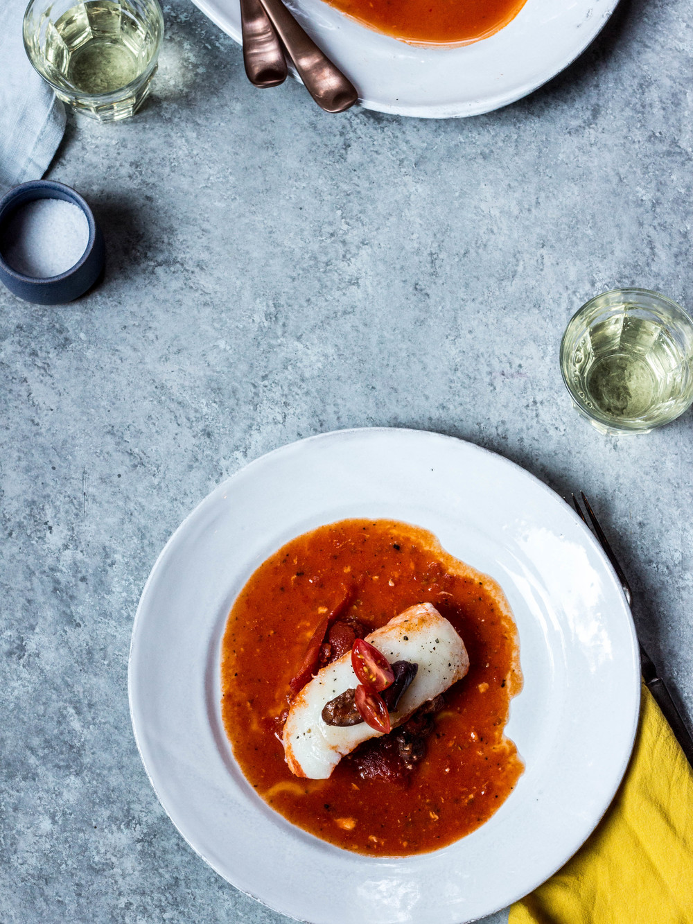 Poached Halibut in Tomato Sauce + Olives (6 of 1).jpg