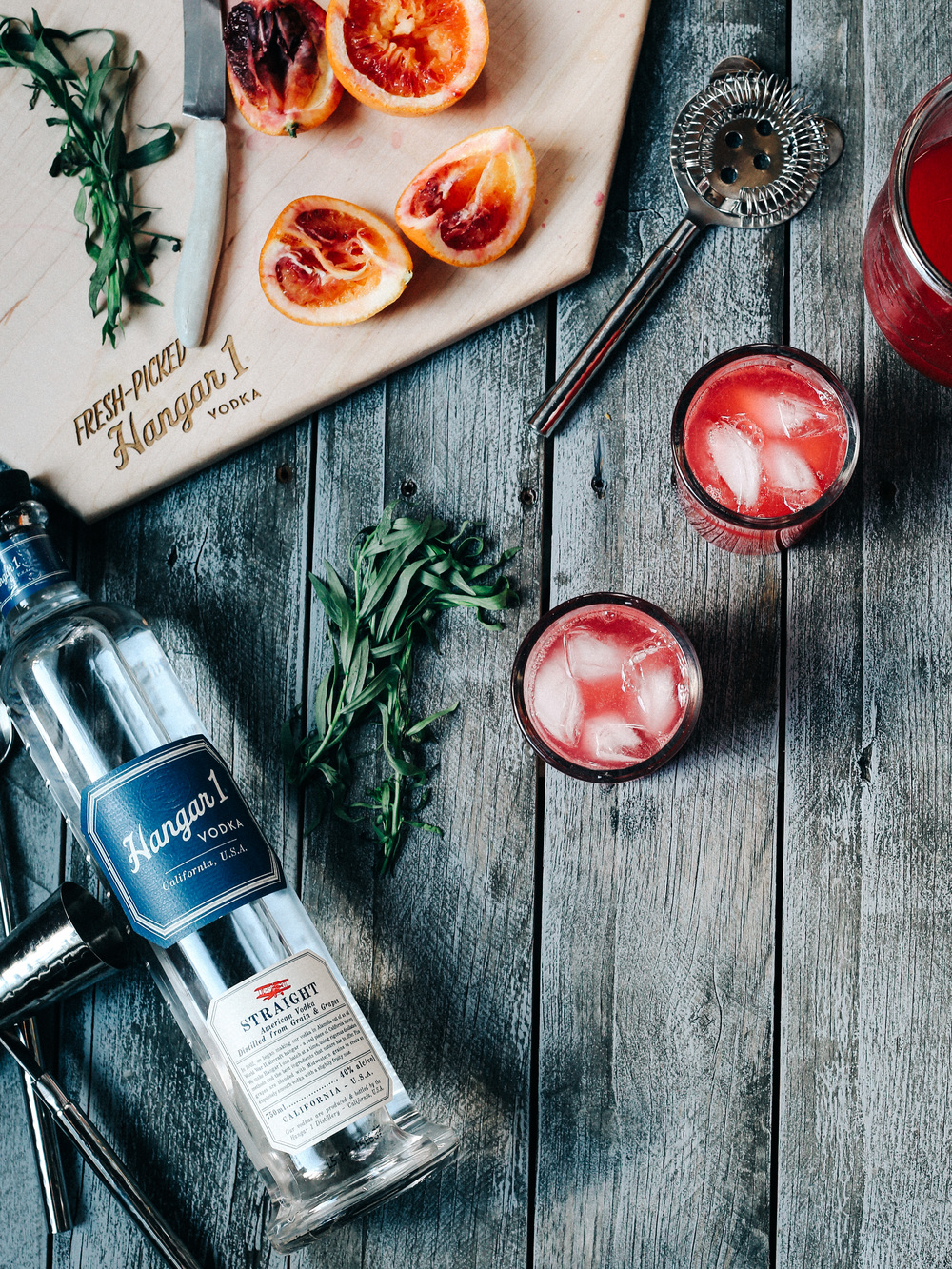 Blood Orange Sparkling Vodka