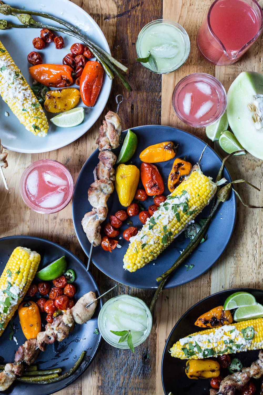 Elliot with Roasted Garlic Mayonnaise, Cotija, Jalapeños + Cilantro