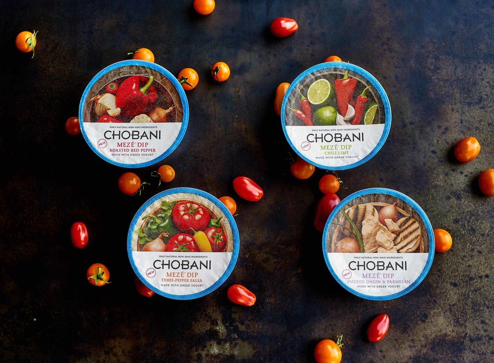 Summer Time Dips with Chobani