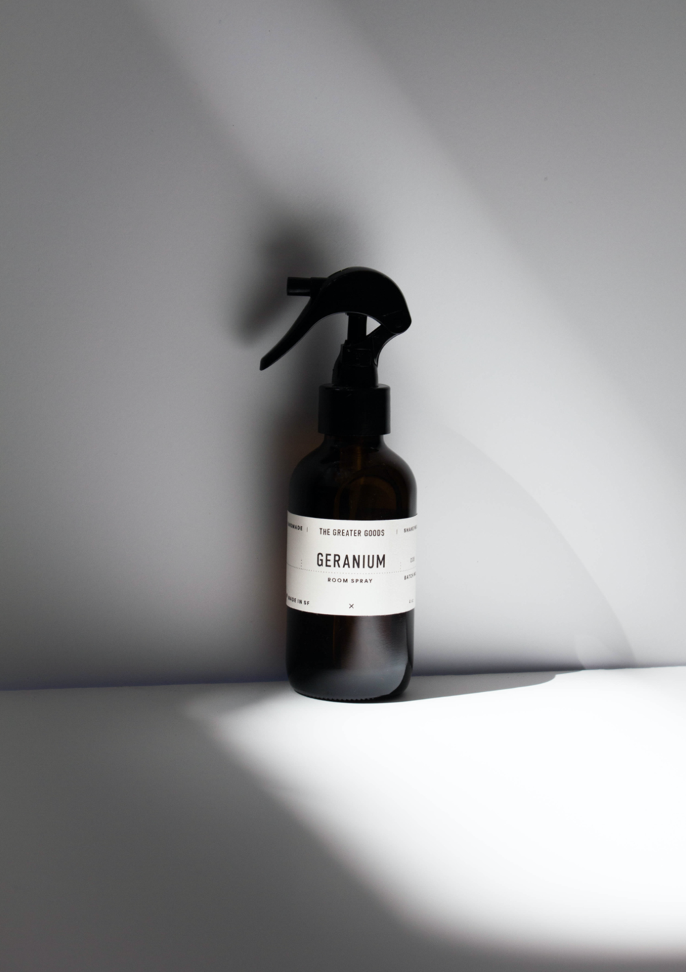 the greater goods geranium spray