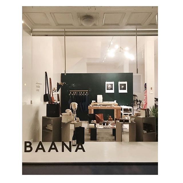 Swing by Baana this weekend for some bay area women-made crafts and goods! Open 11-7 today!