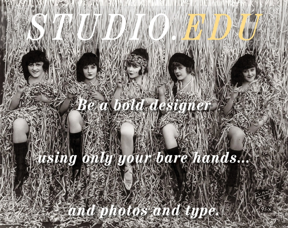 StudioEDU - Be a bold designer