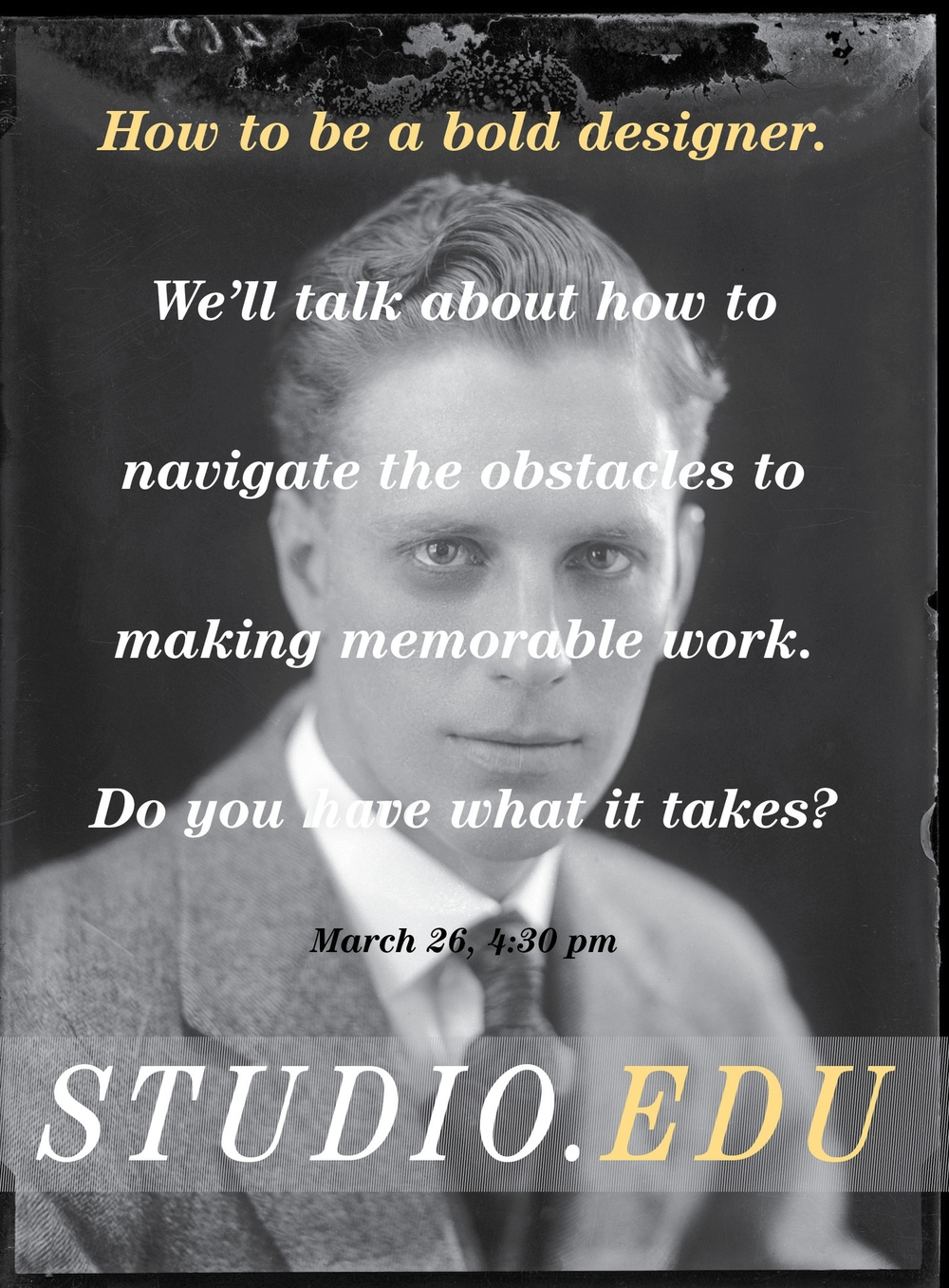 StudioEDU - Bold Design