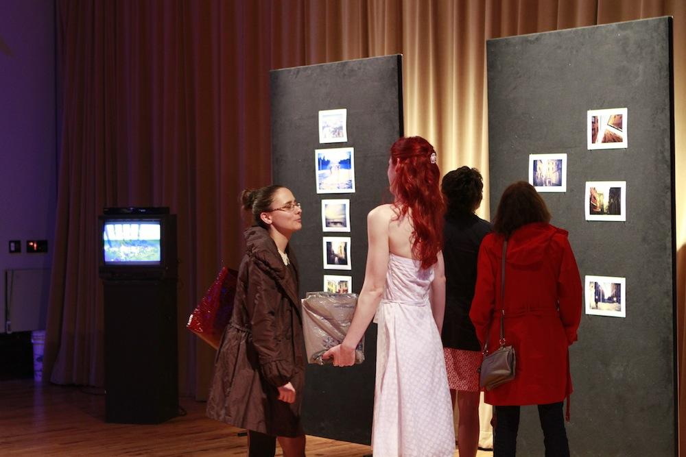 Premiere of Geena Matuson's (@geenamatuson) thesis film 'My Big Bad Wolf' at Massachusetts College of Art & Design, 2013.