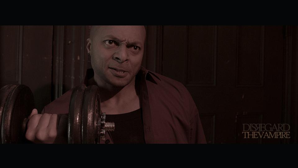 Jose Gonsalves as 'Joe' in Mike Messier's 'Disregard The Vampire,' 2014.