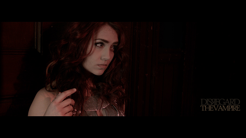 Anna Rizzo as 'Ginger' in Mike Messier's 'Disregard The Vampire,' 2014.