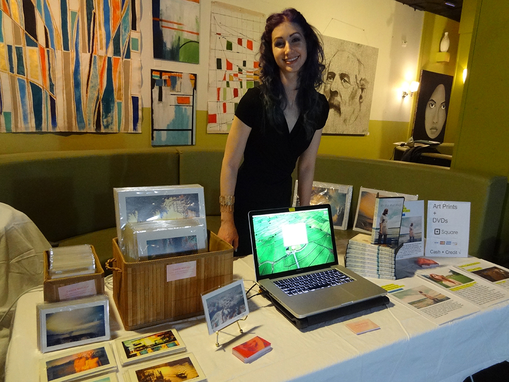 Geena Matuson (@geenamatuson) at RAW Artists event in 2014.