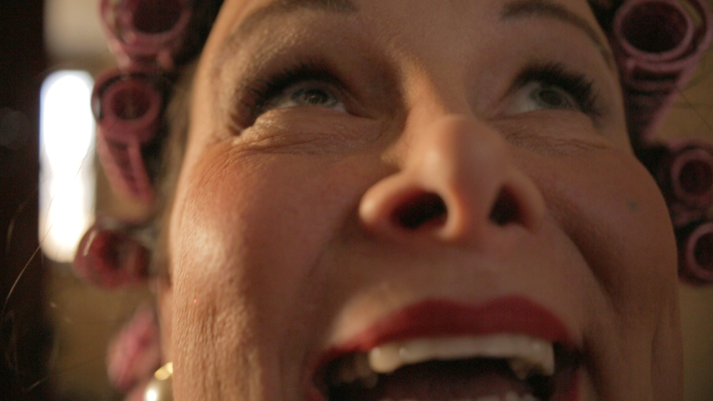 Carlyne Fournier as Norma's mother Gladys in Padilla's 'I Am Monroe?' (Production).