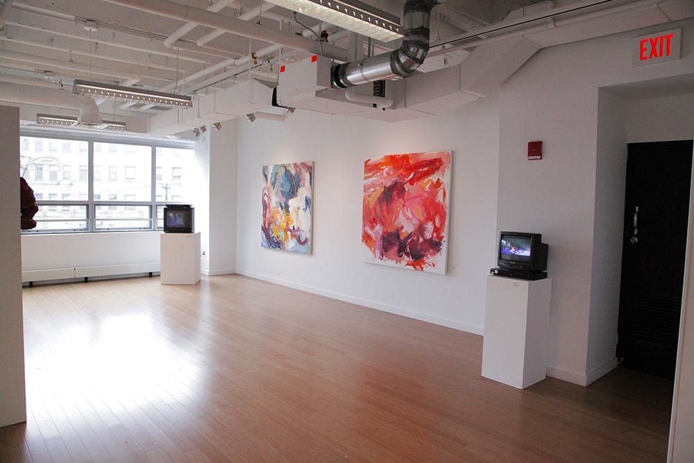 Carly Sheehan / painting Pat O'Neil / video