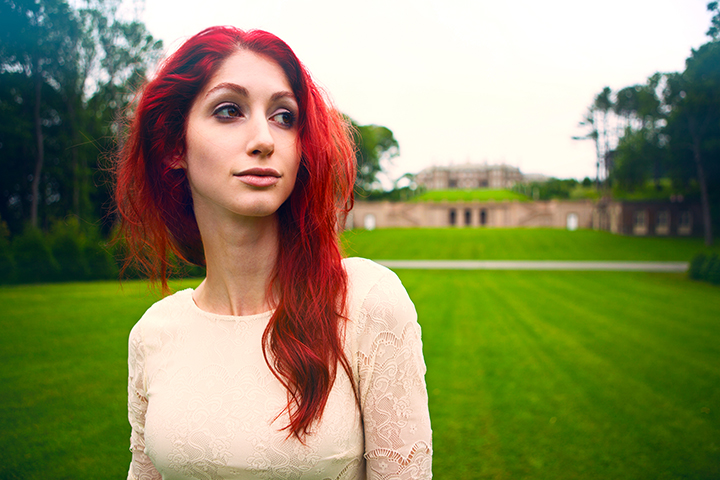Geena Matuson photographed by Desolate Metropolis, 2012.