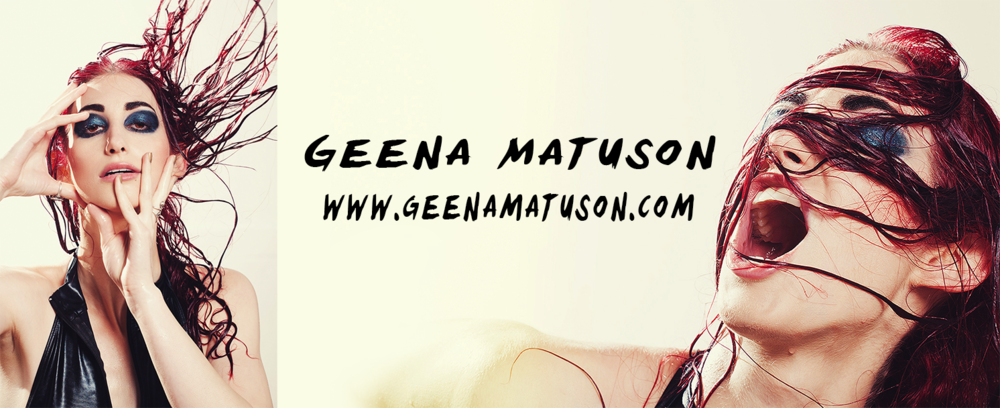 Geena Matuson's personal branding, 2013 through mid-2015.