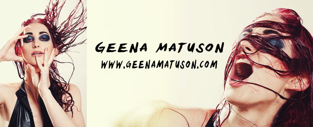 Geena Matuson's personal branding, 2013 through mid-2015.