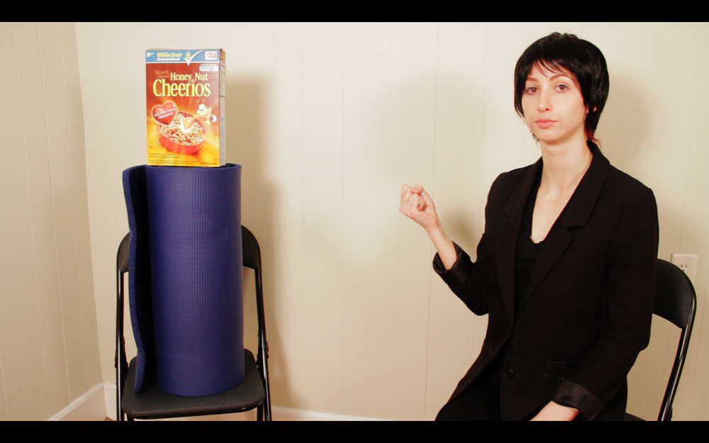 The Empty Room: Geena Radio  Digital video still