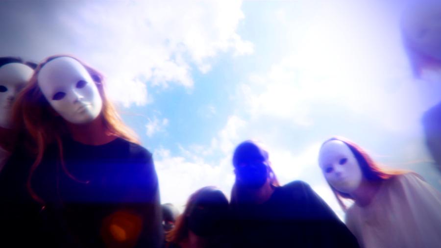 Geena Matuson, Masked Beings in Blue, My Big Bad Wolf.