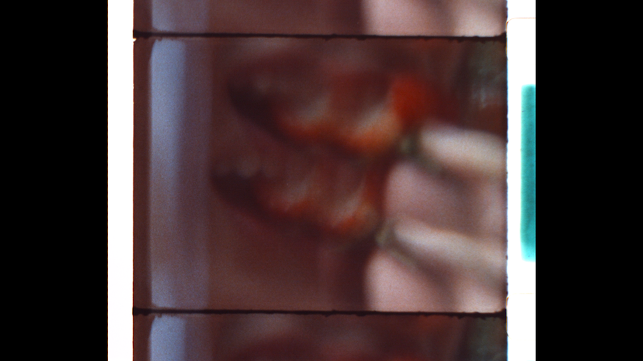 16mm film still from Geena Matuson's (@geenamatuson) psychodrama film 'My Big Bad Wolf,' 2013.