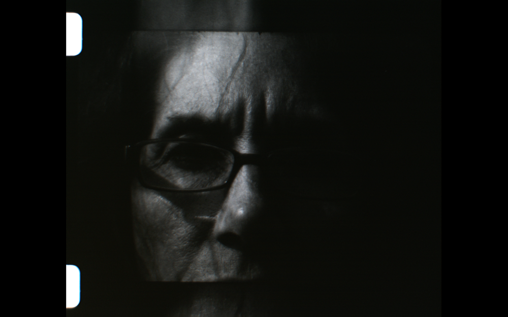Cemetery Writer: The Door  16mm film still