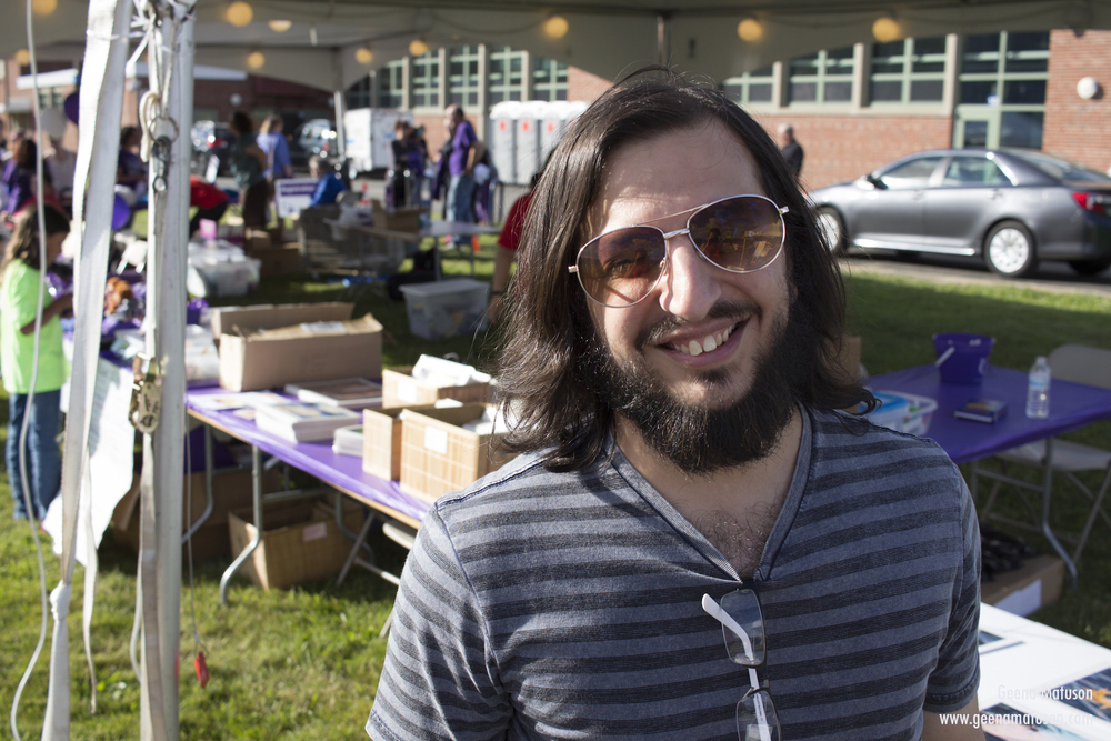 Joe Musacchia at Relay for Life in Medway, MA 2016. Photography by Geena Matuson.