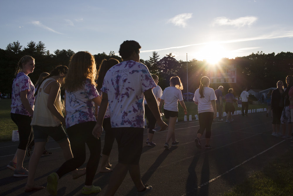 Relay for Life in Medway, MA 2016. Photography by Geena Matuson.
