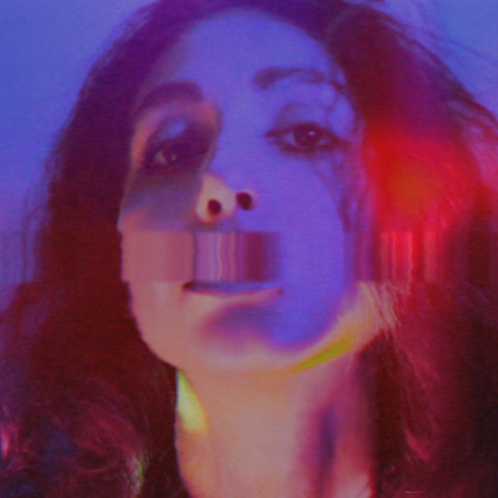Silencio , series 'Purple Neon Nights' / The Girl Mirage @geenamatuson #thegirlmirage