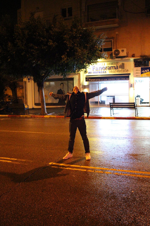 Ben Yehuda Street in Tel-Aviv, Israel. Street and Night photography by Geena Matuson @geenamatuson #thegirlmirage.