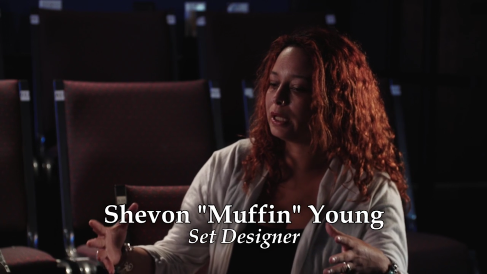 Set Designer Shevon 'Muffin' Young interview for 'Disregard The Vampire,' a narrative-turned-documentary set to release in 2017.