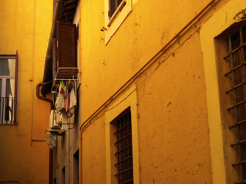Alley 01  / Part of 'Trip To Italy' series by Geena Matuson @geenamatuson, 2011.