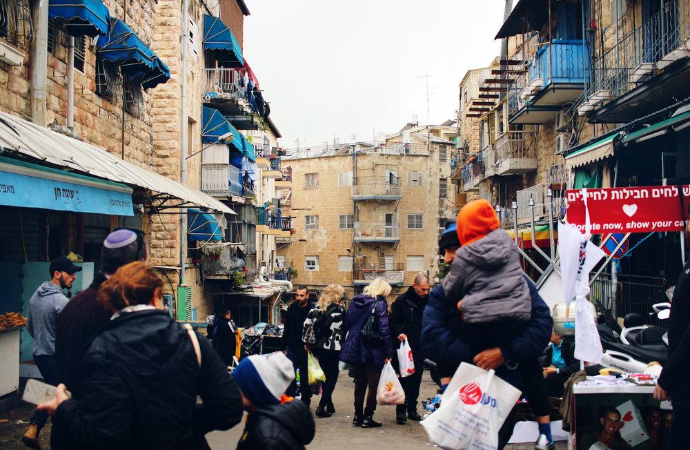 Street photography captured at Shuk Machane Yehuda in Jerusalem, Israel.
