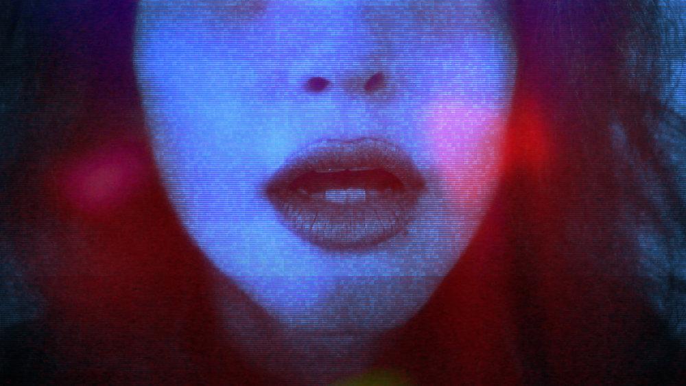 The Girl Mirage , part of series 'Purple Neon Night' The Girl Mirage