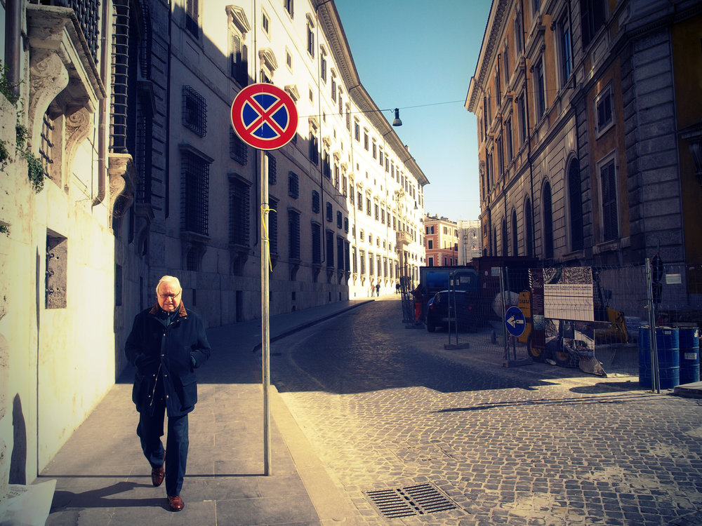 Avenue X  / Part of 'Trip to Italy' series by Geena Matuson @geenamatuson, 2011.