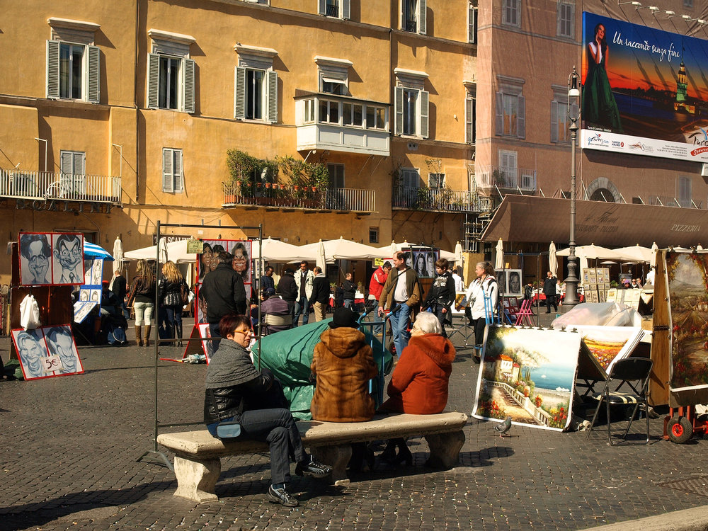 Piazza della Rotonda  / Geena Matuson @geenamatuson #thegirlmirage