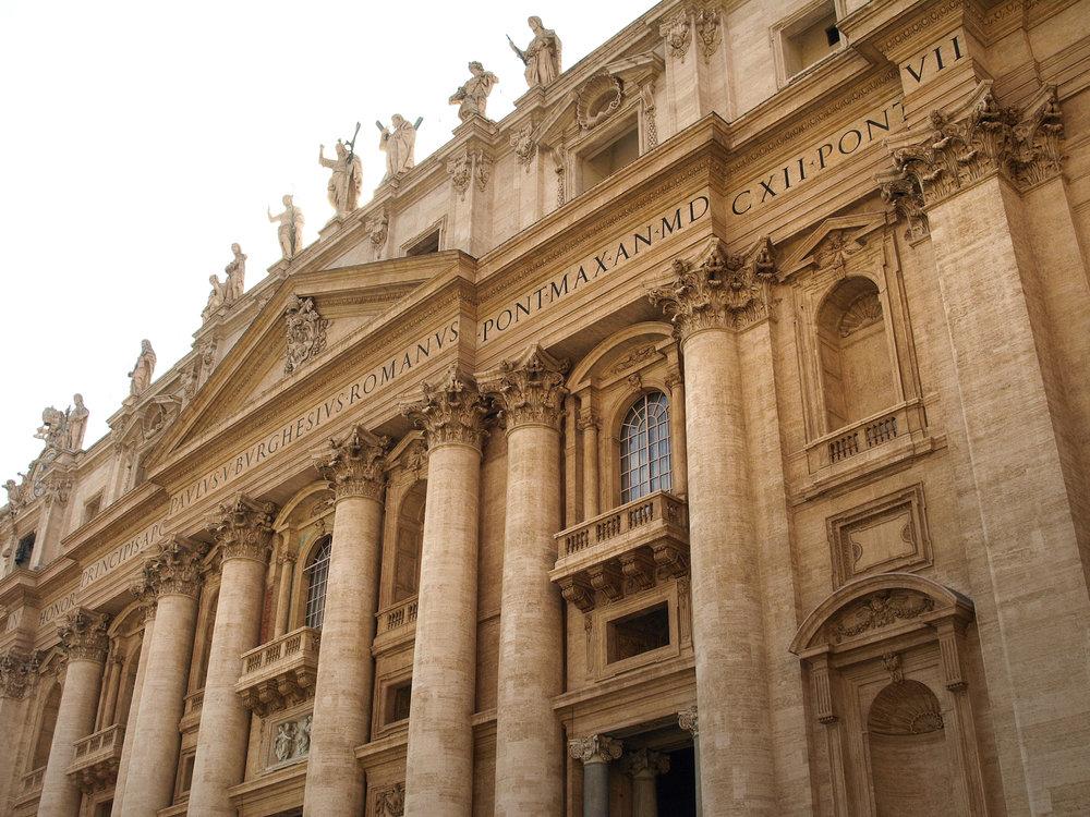 The Vatican  , Vatican City, Italy  / Geena Matuson @geenamatuson #thegirlmirage