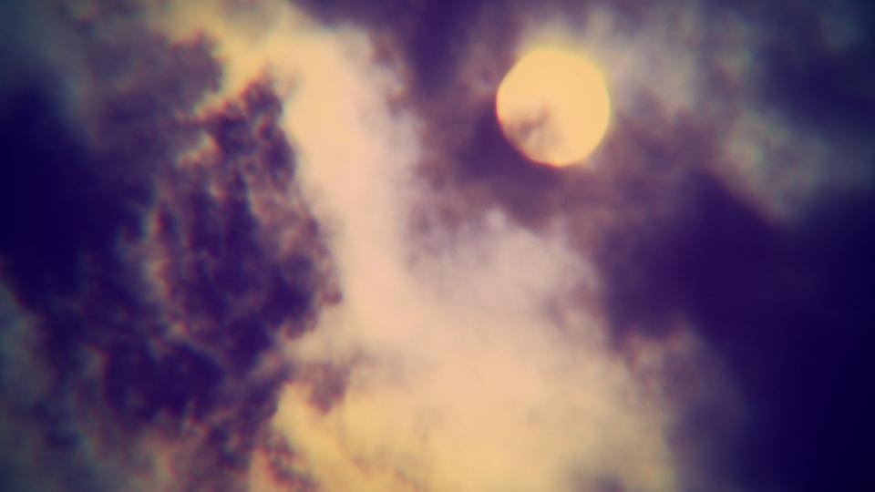 Video stills from Geena Matuson's (@geenamatuson) 'Mother in the Sky' multimedia piece.