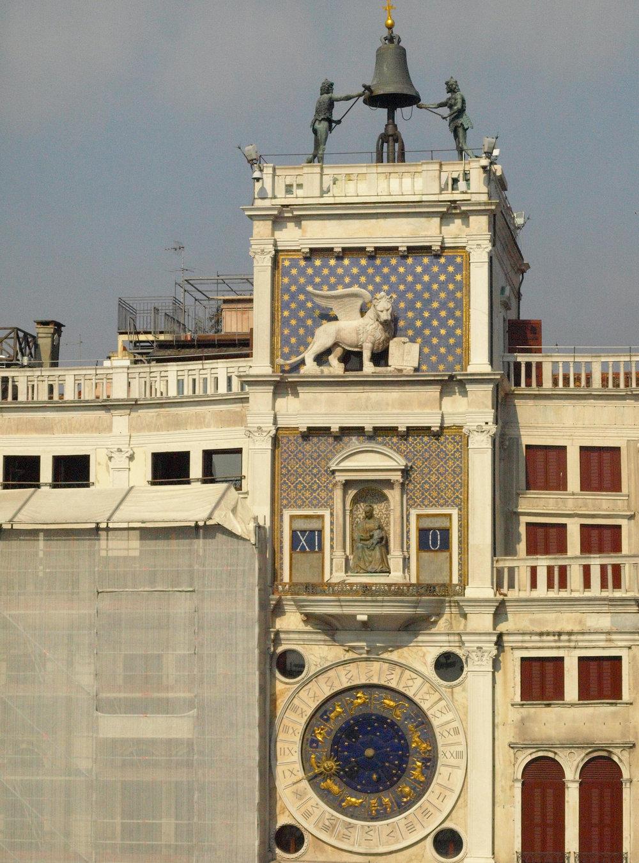Torre dell'Orologio (The Moor's Clocktower), Piazza San Marco, Italy  / Geena Matuson @geenamatuson #thegirlmirage