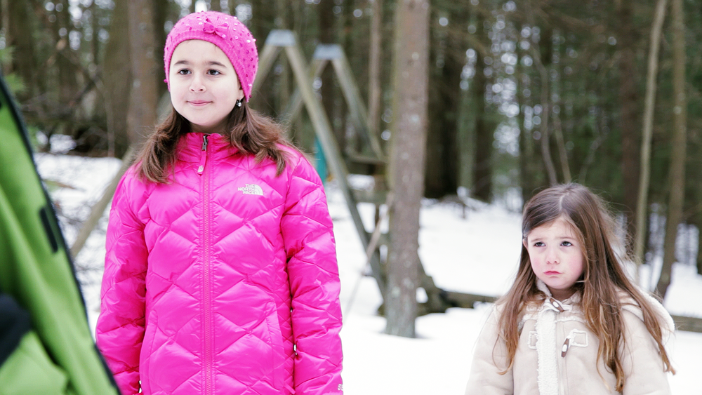 Jessica Kofman and Isabella Putnam in Geena Matuson's (@geenamatuson) short film 'Ice Cream for Breakfast' (2013).