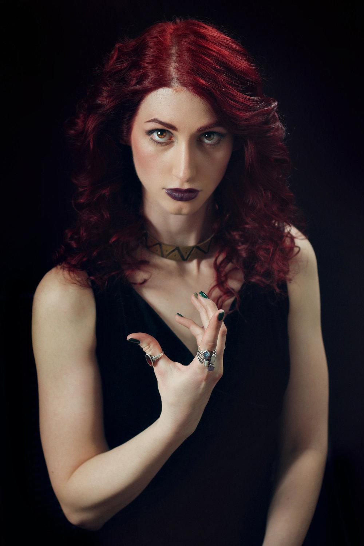 Promo Image: Geena Matuson as 'Valentine' in Mike Messier's 'Disregard The Vampire' (2014).