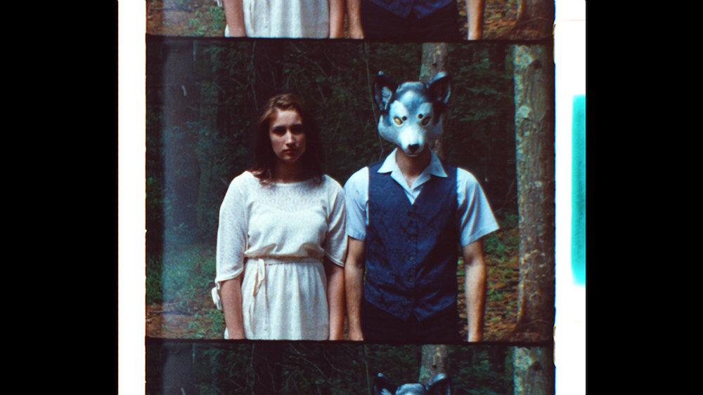 16mm film still from Geena Matuson's (@geenamatuson) psychodrama 'My Big Bad Wolf,' 2013.