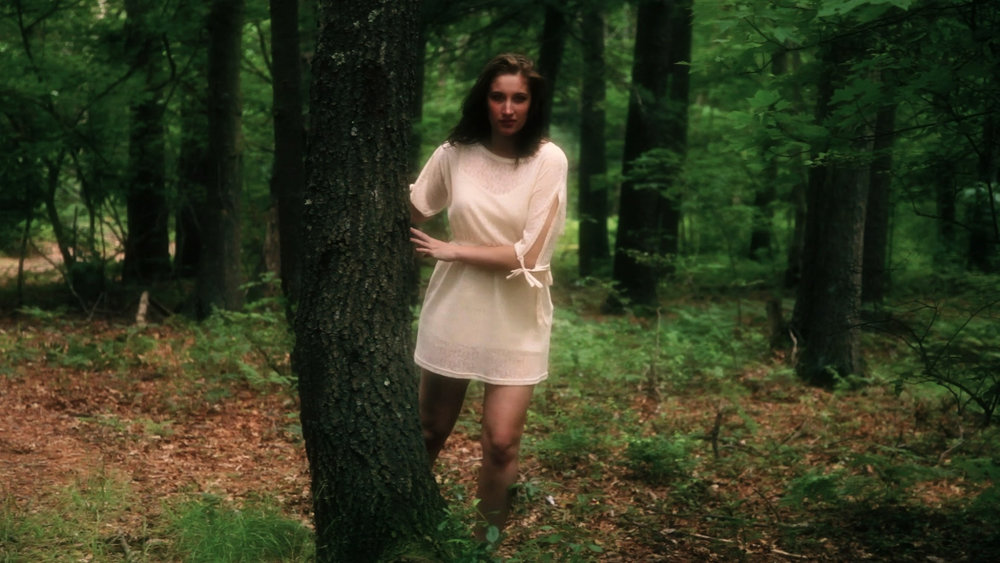 Chelsea Ross Miller in Geena Matuson's (@geenamatuson) 16mm/HDV psychodrama 'My Big Bad Wolf' (2013), filmed in Ponkapoag, MA.
