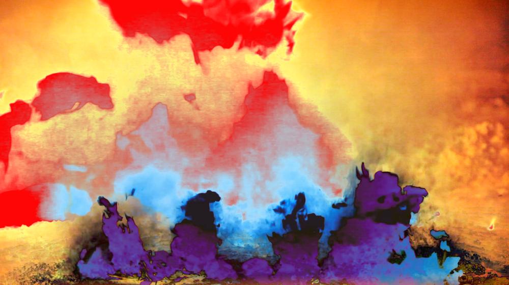 Fire flames video art by The Girl Mirage #thegirlmirage @geenamatuson.