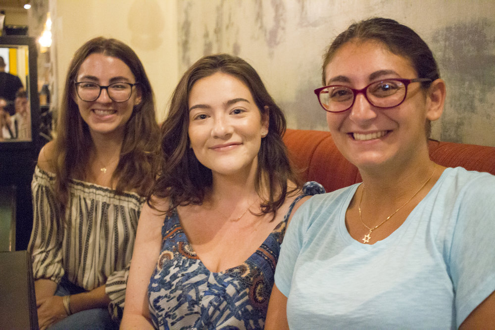 Friends bid farewell to Geena Matuson (@geenamatuson) in Rishon LeZion, Israel, September 2017.