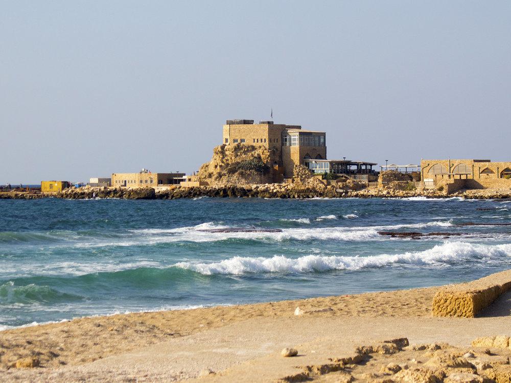 Caesarea Maritima in Israel, photography by Geena Matuson @geenamatuson #thegirlmirage.