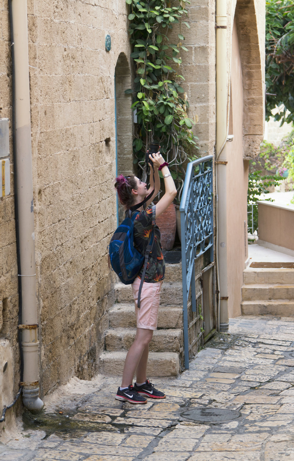 Geena Matuson (@geenamatuson) taking #travel photos in Tel Aviv, Israel.