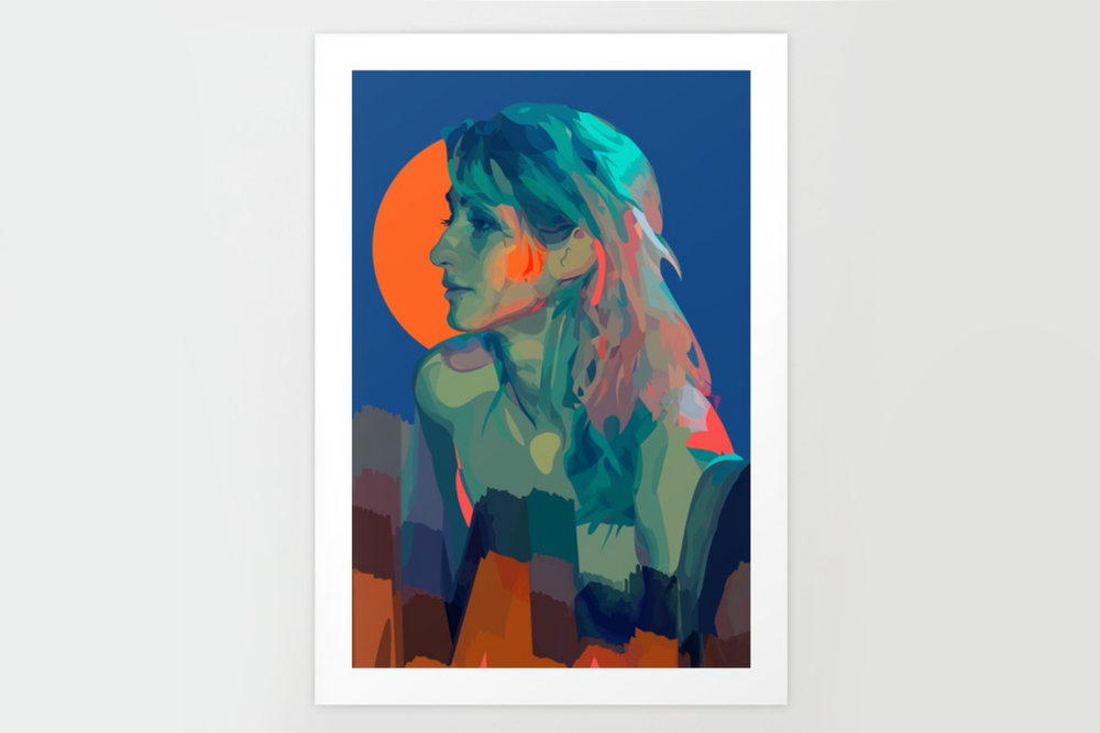 Society6 - Shop art prints and more by The Girl Mirage™ on Society6.com.