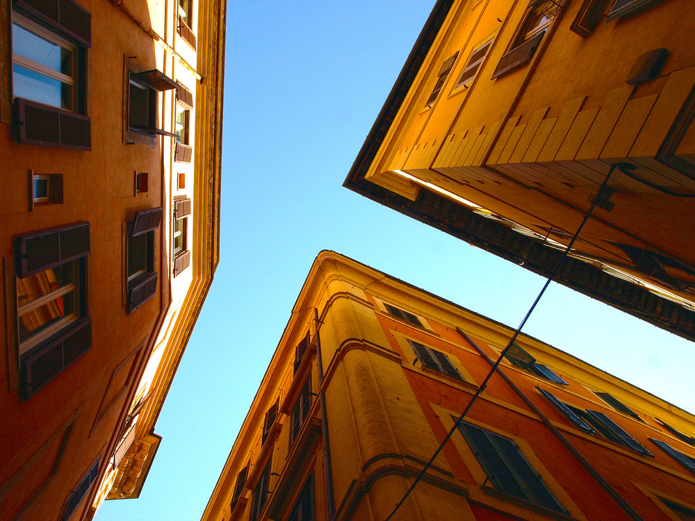 """Angles"" taken at Via della Penna in Rome, Italy. Travel photography by Geena Matuson @geenamatuson #thegirlmirage."