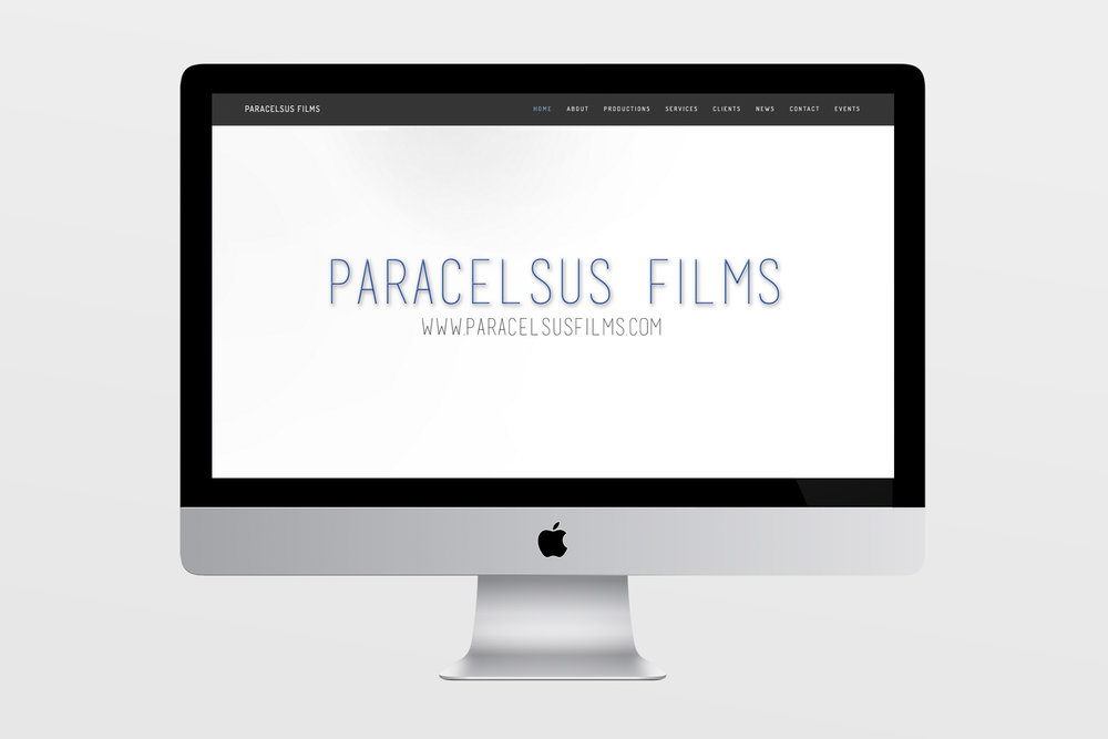 Paracelsus Films - Services for Paracelsus Films included a responsive website layout with custom formatting and graphics, as well as copy and content editing.Additional services included a custom blog with content transfer from previous website with conformity to new look and feel.WWW.PARACELSUSFILMS.COM