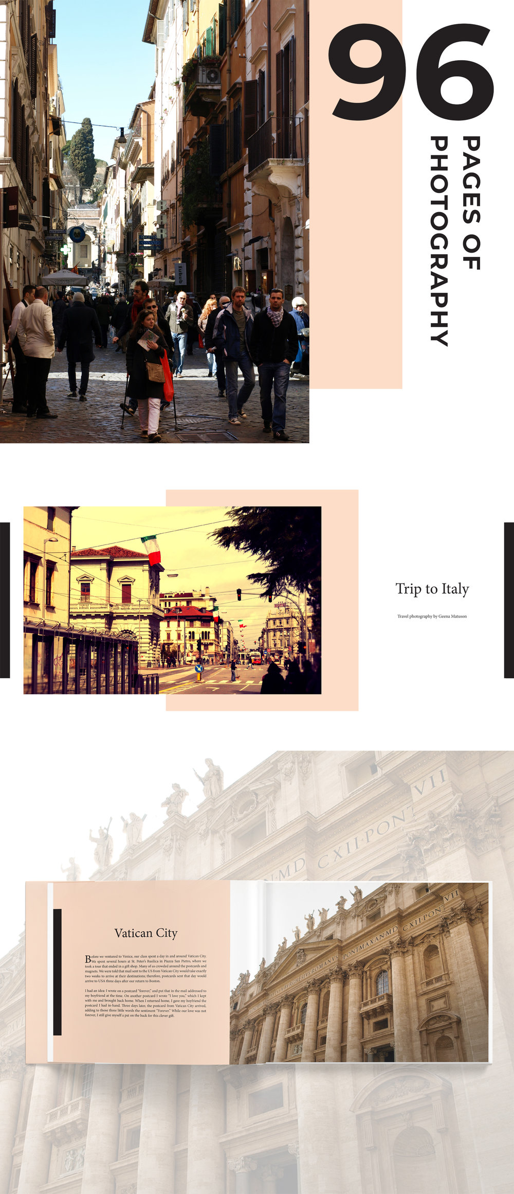 "Geena Matuson's (@geenamatuson) photography book featuring work from her ""Trip to Italy"" now available on Amazon.com."